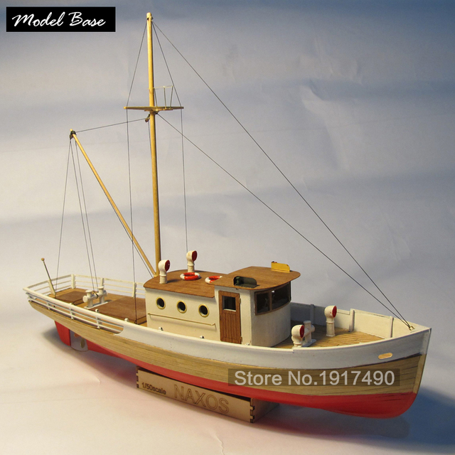 Wooden Ship Models Kits Diy Train Hobby Model Wood Boats 3d Laser Cut Scale 1/50 Nexus (WITH) A ...