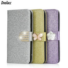 Fashion Bling Glitter Case Cover For Huawei Honor 8 9 10 P10 Lite 7C 8S V10 Soft Silicone Back Flip Leather phone cases