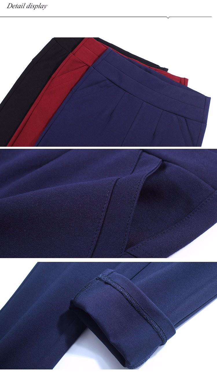 2016 New Autumn Winter Women Casual Stretch Leggings Pencil Sport Pants Skinny Leggings Women\'s Clothing Trousers Plus Size A661 h