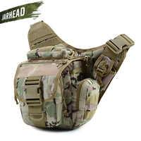 Militare Tattico Shoulder Bag 900D Oxford Uomo Donna Outdoor Sacchetto Della Macchina Fotografica del Pacchetto Della Vita per Arrampicata Campeggio Trekking 9 Colori