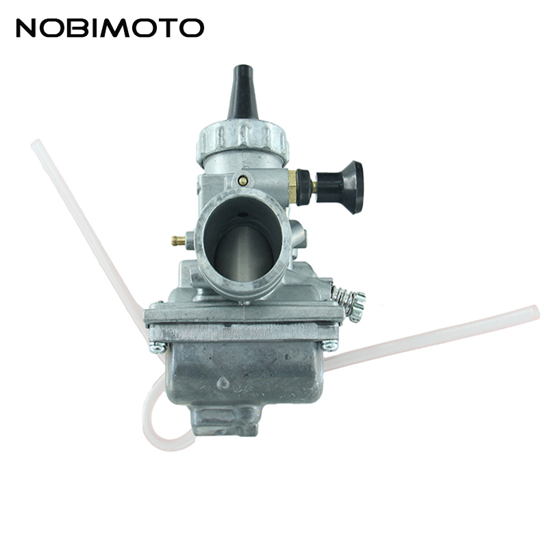 28MM Mikuni VM24 Carburetor Hand Manual Choke High Performance For 150cc 160cc Lifan YX Zongshen Dirt Pit Bike ATV Quad HK-124 original 26mm mikuni carburetor for cbt125 cb125t cbt250 ca250 carburador de moto