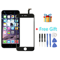 iPartsBuy 2 in 1 for iPhone 6 (Front Screen Outer Glass Lens + Flex Cable + Free Gift )
