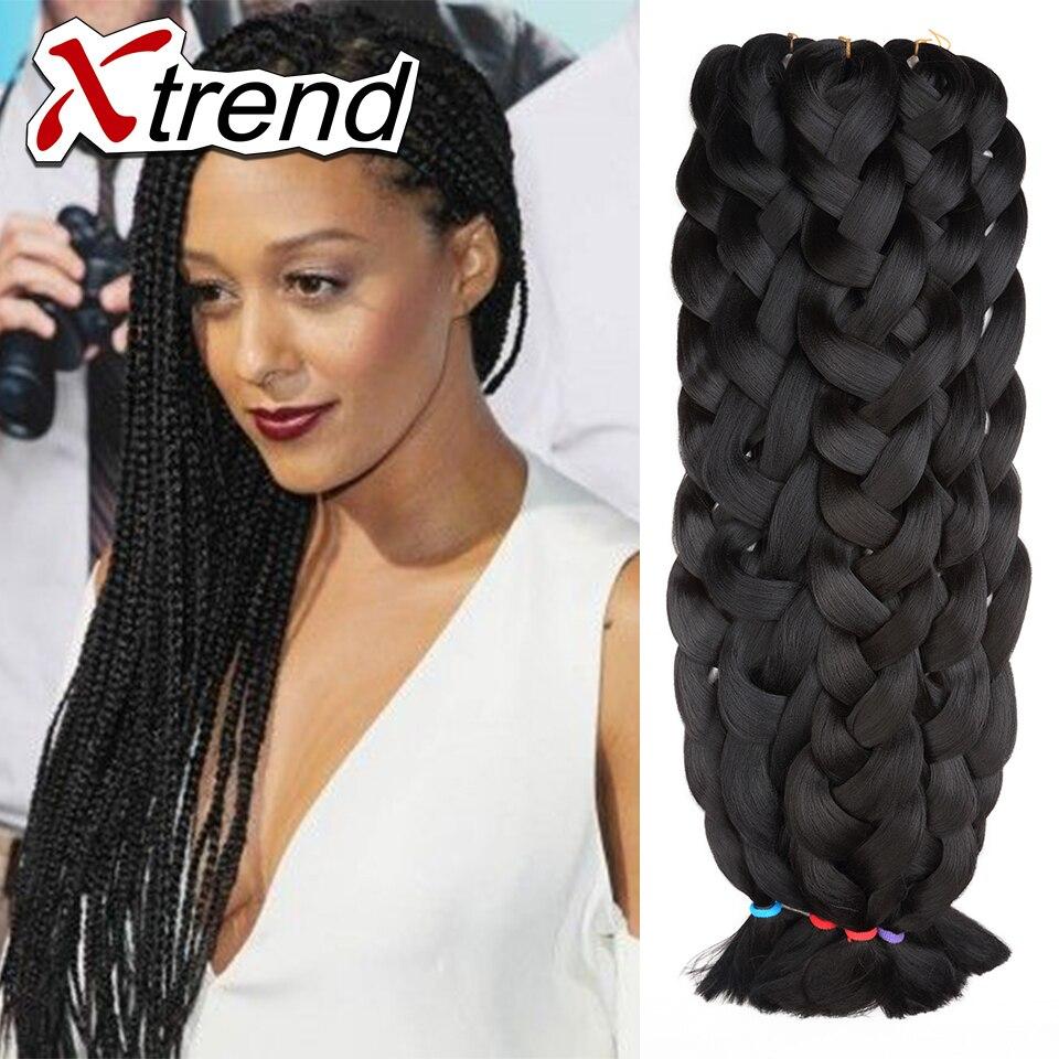 Jumbo Box Braids With Kanekalon Hair Lovely Long Hair Box Braids