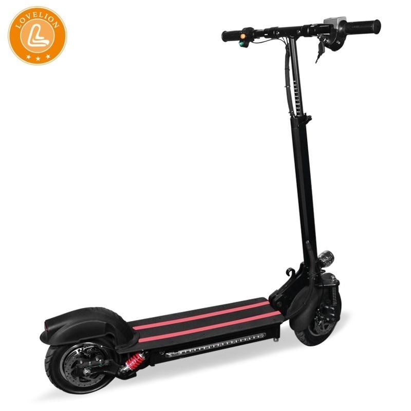 LOVELION 10 pouces hors route Scooter électrique adulte 48 v 1200 w puissant nouveau Scooter électrique pliable