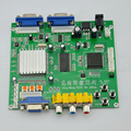 Free Shipping New Arrival HD9820 Video Converter Board Support CGA/EGA/VGA/YUV to VGA Component Signal Input