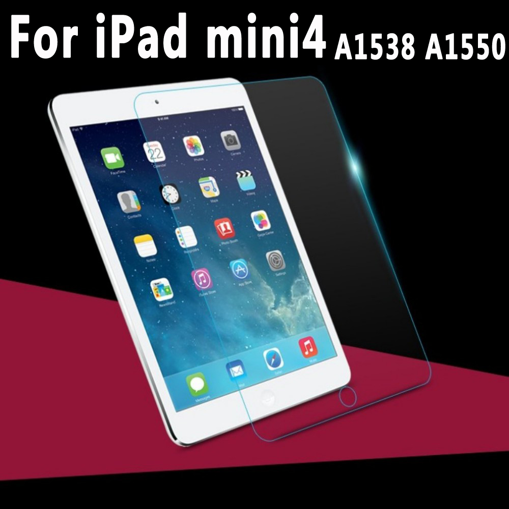 Haute Qualité Renforcé Verre Trempé pour iPad mini 4 7.9 pouces Écran Protecteur Couverture Rigide pour iPad mini4 A1538 A1550 verre