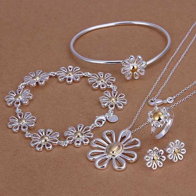 Factory price top quality silver plated club jewelry sets for New top jewelry nyc prices