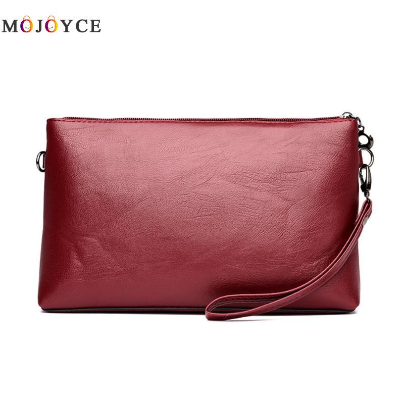 Casual Women Messenger Bag Female PU Leather Shoulder Crossbody Bag Office Ladies Designer Handbag Bolsa Feminina 5