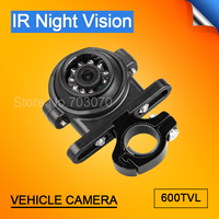 New Style CCD Outdoor Night Vision Backup Camera With Holder 3.6MM 4Pin 600TVL CCTV Security Side Camera For Bus Truck Auto