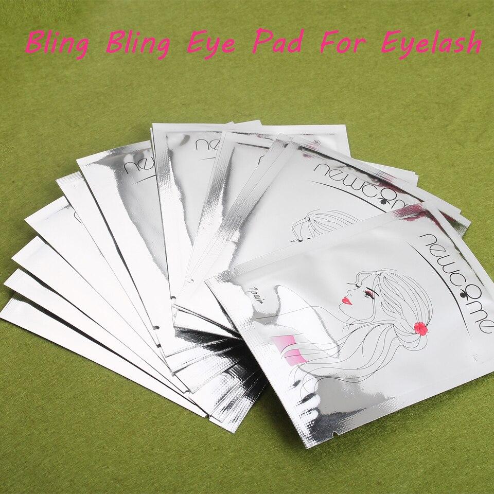 20/30/50/100 piezas nuevos parches de pestañas ojos almohadillas pestañas extensión de pestañas parches Mujer maquillaje herramientas