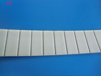 Free shipping 10Meters P3 25mm Flat Belt Thickness 3mm Width 25mm  white  Polyurethane with Steel core for Fitness Equipment