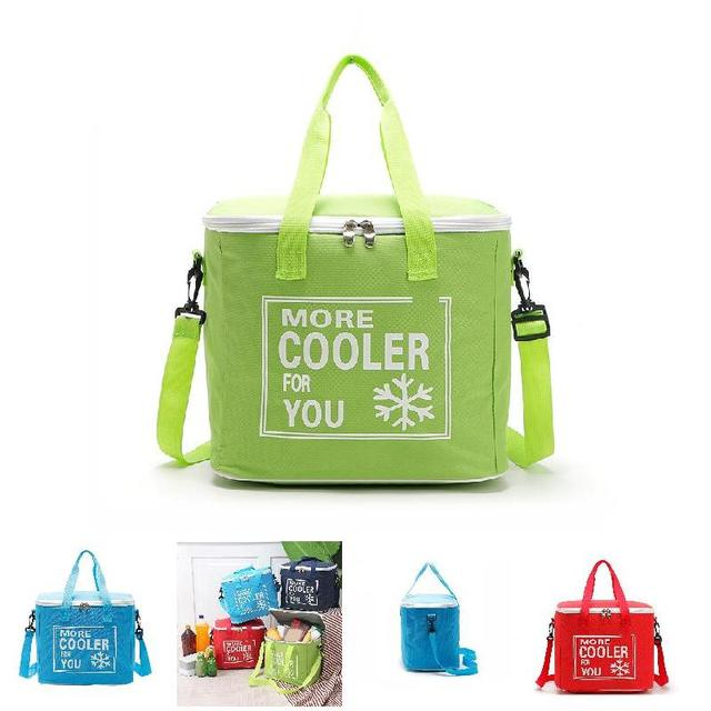 20L Outdoor Picnic Bag Cooler Bags Oxford Cloth Waterproof Insulation Lunch Cold Box YS-BUY