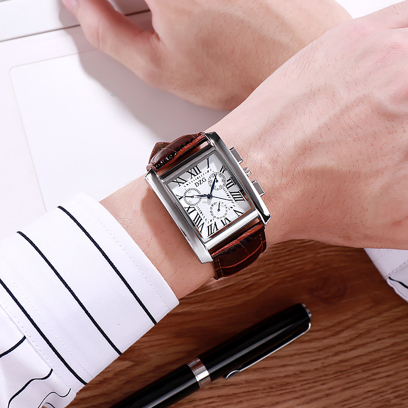 Business Square Exquisite Simple Style Women Watches Luxury Fashion Quartz Wristwatches Brand Woman Clock Montre Femme