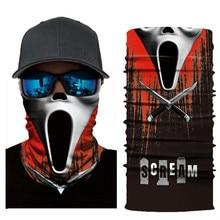Biker Bandanas (5 pcs/lot) AC424-AC437 Outdoor Hat Cycling Turban Head Scarf Sports Face Mask