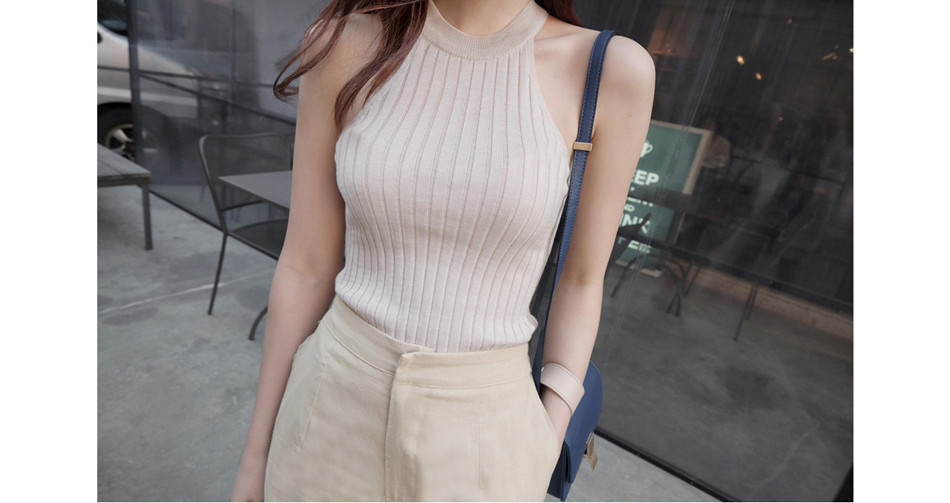 Debardeur Femme Camisas Mujer, короткий топ для женщин,, летний топ с бретельками через плечо, Женский Трикотажный Хлопковый женский топ и блузки