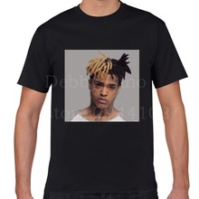 Free Shipping 2017 Men's Creative Xxxtentacion 3D Print Men's 100% Cotton Short Sleeve Tees Summer Popular T Shirt