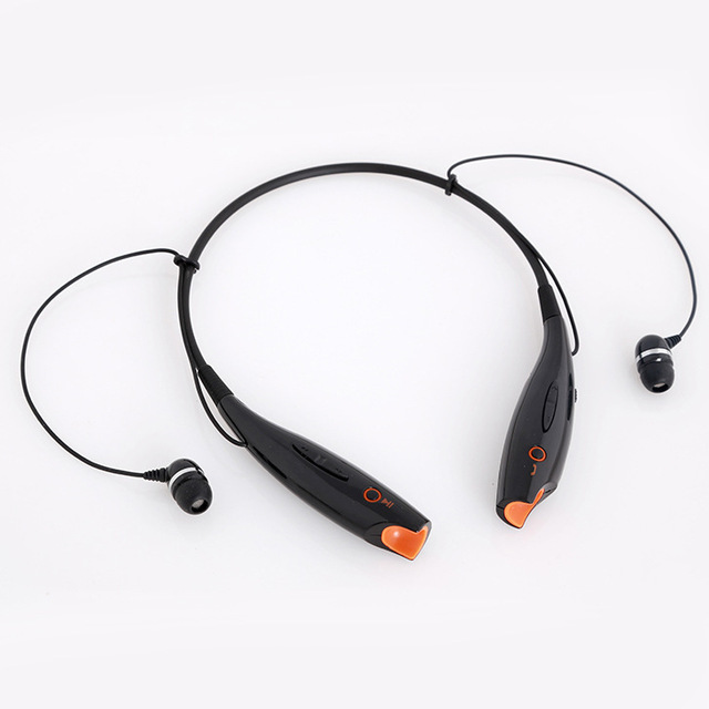 88cf4e3f05e In ear headphones Wireless Bluetooth headphones Neck hang computer mobile  headphones with microphone Black white Free Shipping