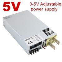 New 5V Power Supply 5V 0 5V Analog Signal Control AC DC High Power 0 5V Adjustable Power 5VDC Transformer power supply