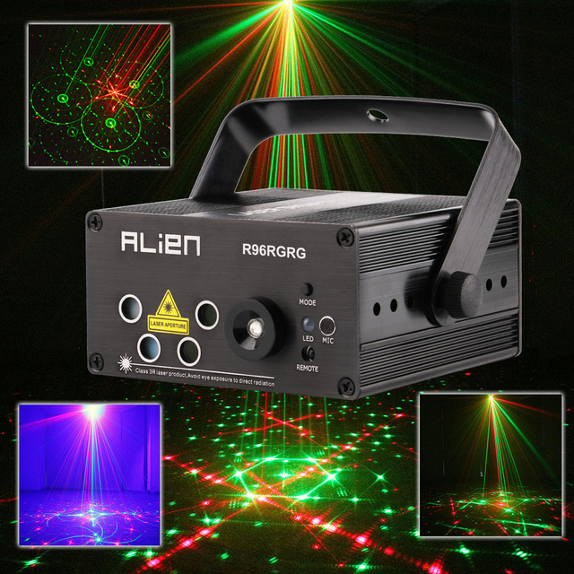 Unique Led Mini Laser Projector RG Stage Lighting Effect Disco Bars Light Family Party Lights Show 110V Inspirational - Inspirational outdoor light projector Photos