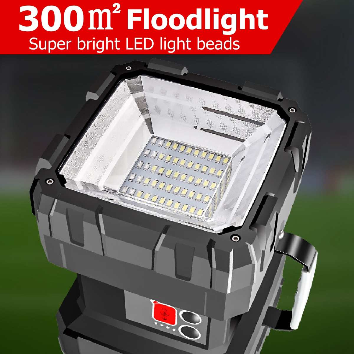 Cabeza de LED lámpara lámpara lámpara rectos Lámpara Linterna cabeza lámpara de plástico