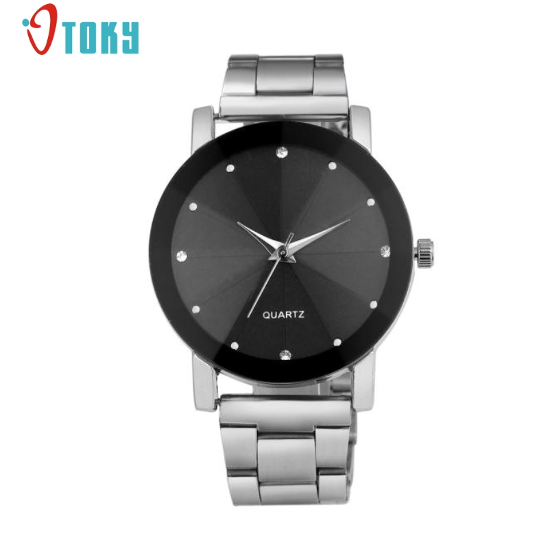 Excellent Quality Luxury Unisex Watch Men Womens Watches Fashion Quartz Stainless Steel Dial Stainless Steel Band Wrist Watch sinobi men fashion formal quartz wrist watch stainless steel strap waterproof silver case round dial luminous roman number