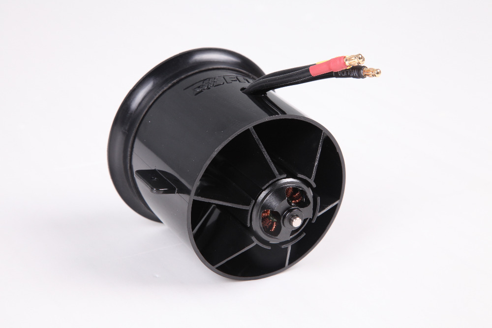 FMS 70mm 12 Blades Ducted Fan EDF Unit With 2845 KV2750 Motor 4S version For RC Airplane Model Plane Parts fms 70mm 12 blades v2 ducted fan edf unit with 2860 kv1850 2845 kv2750 brushless motor