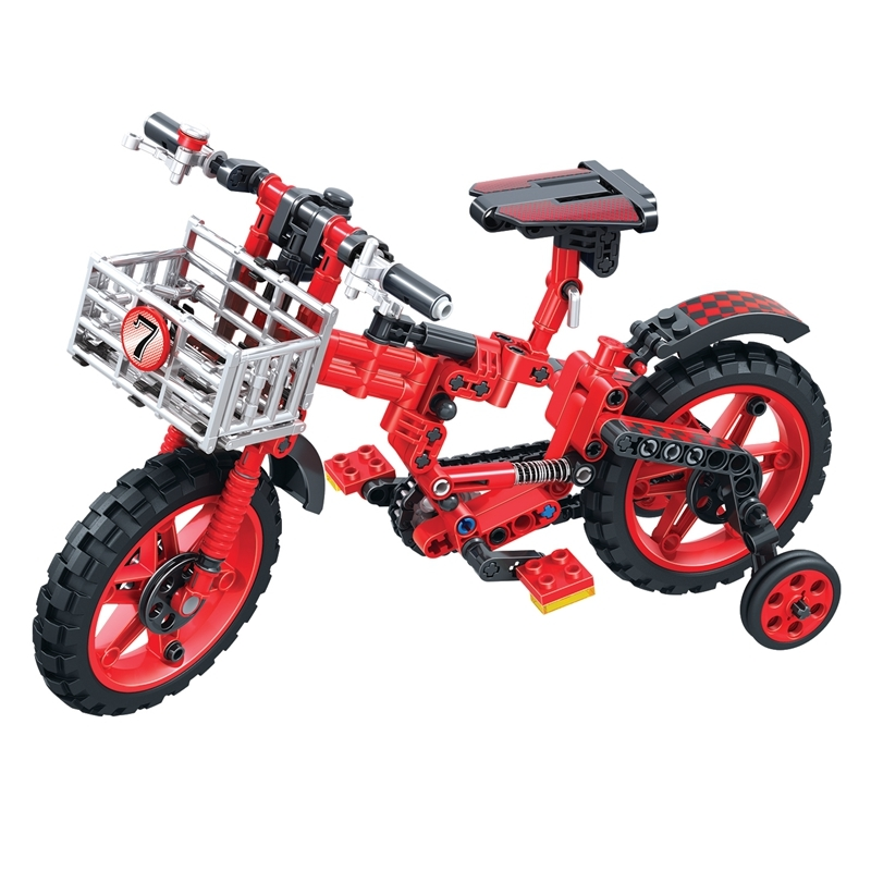 WEILE Technic City Bicycles Building Blocks Sets Bricks Model Kids Classic Toys For Children Compatible Legoings Motorcycle Car
