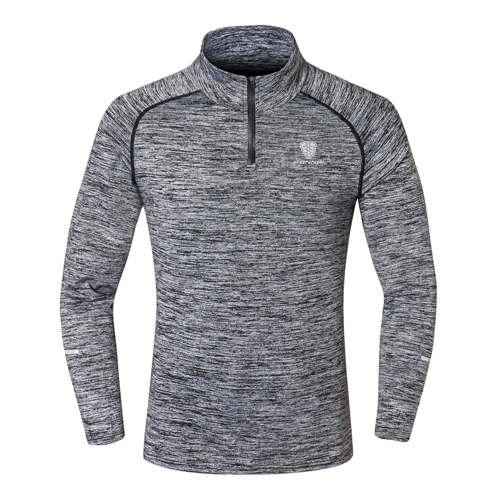 NEW Sport Men Quick Dry T-shirt Long Sleeve Sport Top Sportswear Men Fitness Outdoor Running Mountaineer Clothing Training Shirt