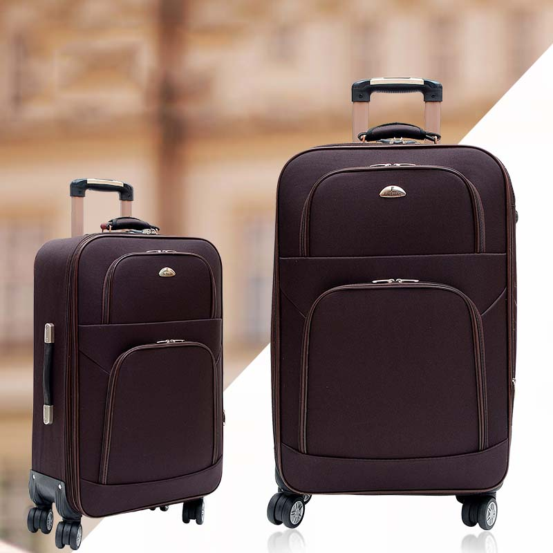 BeaSumore Fashion Men Rolling Luggage Spinner Carry On Travel Duffle 28 inch Suitcase Wheel Cabin Trolley