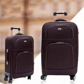 0c2624b7afc2 BeaSumore модные Для мужчин Rolling Чемодан Spinner Carry на Путешествия  Duffle 28 дюймов чемодан на колесах тележка для каюты случае Для женщин  школьная ...