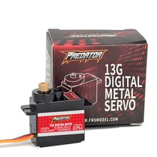 FMS Predator 13g Full Metal Servo Analog Digital Optional for RC Airplane Drone Part DIY(China)