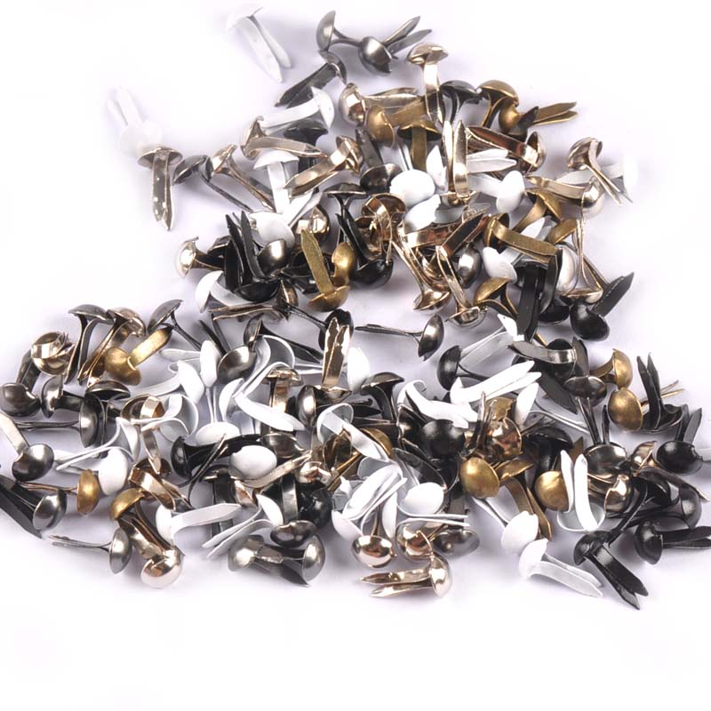 35pcs Scrapbooking Card Making Split Pins Brads Round Fasteners Supplies 4#