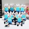 Приключения время Плюшевые Игрушки Джейк Финн Beemo BMO Пингвин Гюнтер Ice king Сотовый Телефон Ремешок Фаршированная Мягкая Кукла Бесплатная Доставка