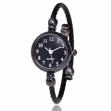 Simple silver women watches elegant small bracelet female cl