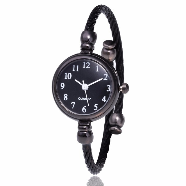 Simple silver women watches elegant small bracelet female clock 2018 new fashion