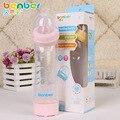 Suministre la alta calidad PP del bebé contra la flatulencia botellas curvo gran calibre botella 280 ml b # t62