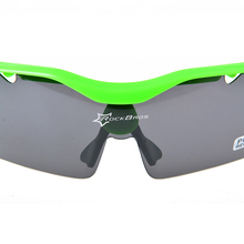 New Rockbros Polarized Cycling Glasses Sports Sunglasses Goggles TR90 22g White, Black, Yellow, Green