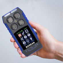 Gas Leak Detector Digital Air Quality Detector O2 Detector 2 In 1 O2 Flammable Temperature Time Digital Display Gas Leak Alarm outest oxygen o2 concentration detector mini oxygen meter o2 tester gas analyzer with lcd display and sound light alarm