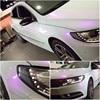 1.52*18 m PVC רכב גלישת קישוט לבן כדי סגול זיקית ויניל רכב גלישה ויניל