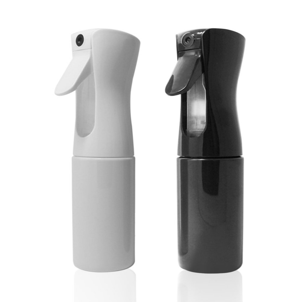 300ml High Pressure Water Spray Bottle Continuous Sprayer Cosmetic Moisture For Salon Barbers Spray Water Hairdressing Tool