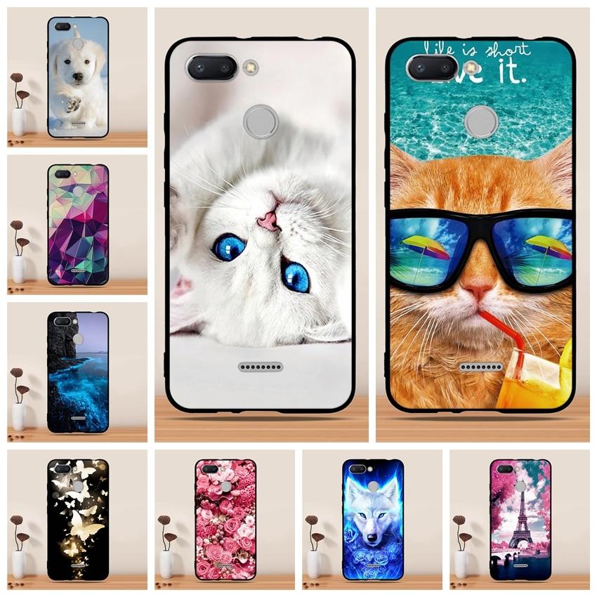 25276d88899 Case For Xiaomi Redmi 6 Case Silicon Cat Unicorn animal Funda For Xiaomi  Redmi 6 Cover Capas Coque For Xiaomi Redmi 6 Phone Case