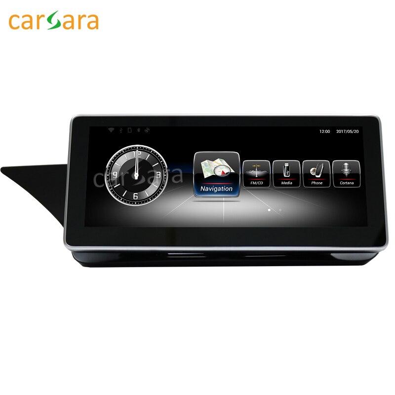 Carsara android дисплей для Benz E Class W212 2010-2012 10.25 сенсорный экран GPS навигация Радио стерео тире мультимедийный плеер