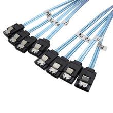 Высокоскоростной 6 Гбит/с Sas кабель Sata 3 кабель SATA III Высокое качество для сервера HDD кабель SSD 1 м