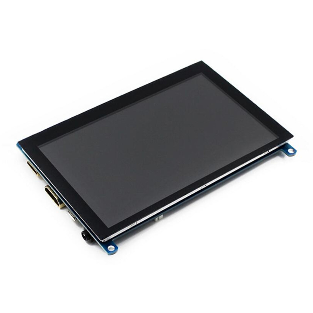 5 Inch VGA HDMI High Definition Display Module Capacitive Touch Screen Support for NVIDIA For Nano For Raspberry Pi