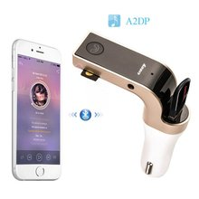 New Arrival Pro Bluetooth MP3 Msic Player FM Transmitteur Radio Handsfree USB Charger Car Kit