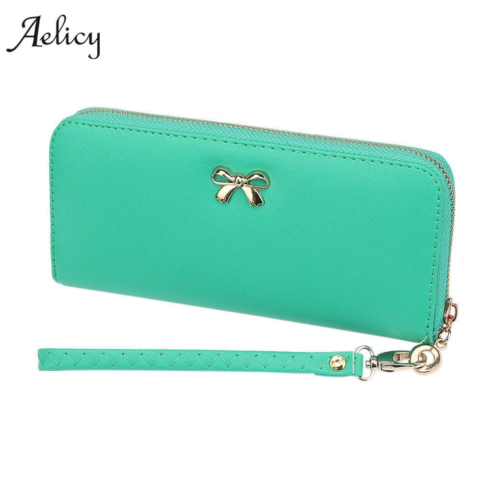 Aelicy Luxury Large capacity Purse Women Patent Leather Purses Female Wallets Zipper Day Clutch Black Purse Luxury Brand Wallet