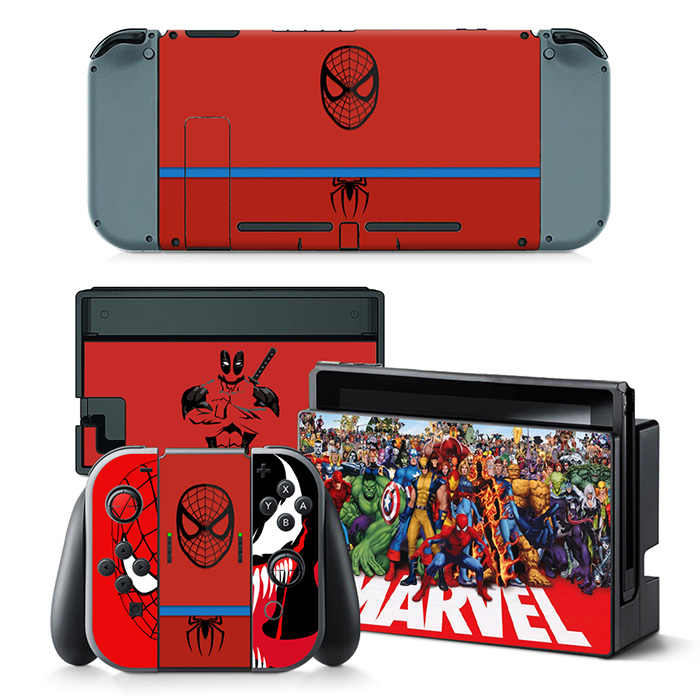 New popular design skin stickers for Nintendo Switch console game decals Christmas gift