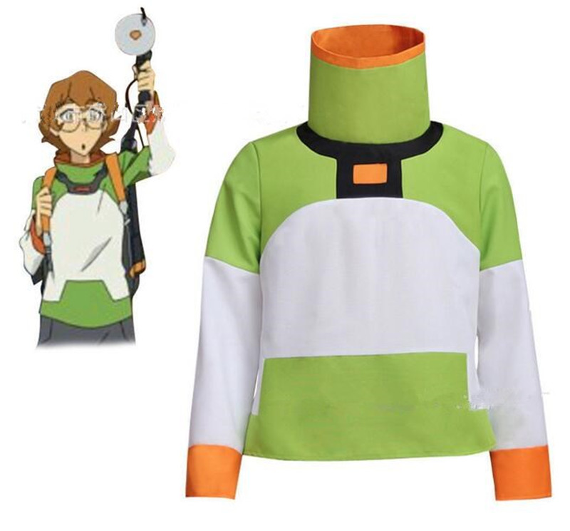 Anime Voltron: Legendary Defender Pidge Shirt Jacket Cosplay Costume  A420