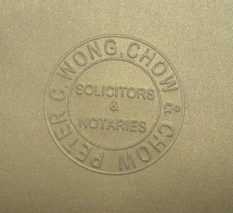 Image 2 - Big metal custom embosser seal stamp certificate and office document sealing-in Stamps from Home & Garden