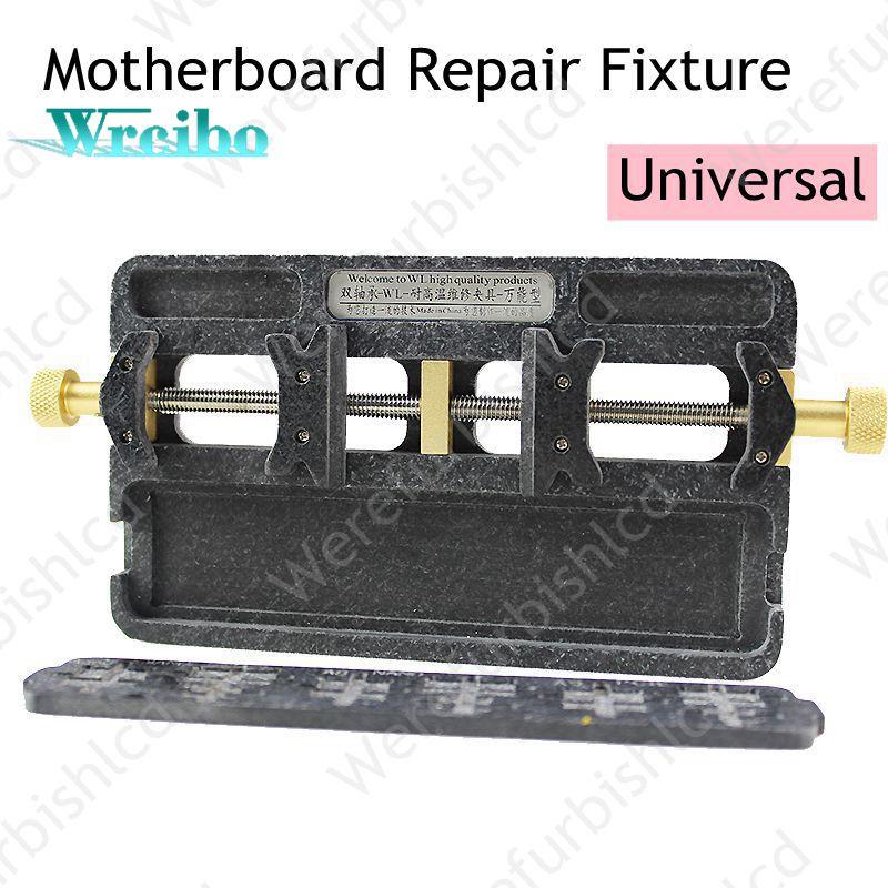 imágenes para Wrcibo WL Universal de Alta temperatura placa madre del teléfono Soporte de la Placa PCB Jig Fixture IC Reparación Mantenimiento Plataforma de Herramientas de Molde